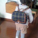 幼稚園バッグと浦島太郎